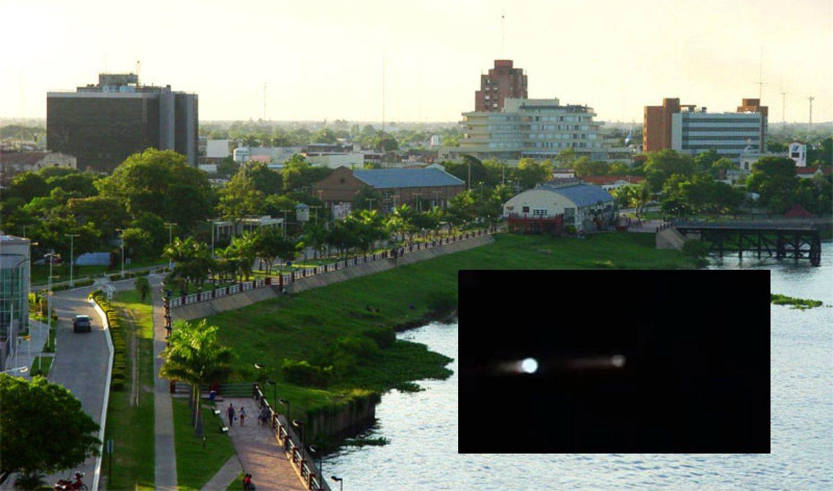 Las luces en el cielo de Formosa correspondían a un cohete chino