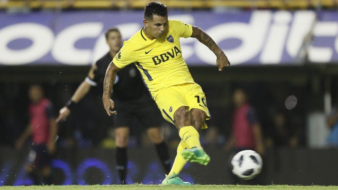 Gol de Edwin Cardona para Boca ante Tigre - Crédito: @BocaJrsOficial