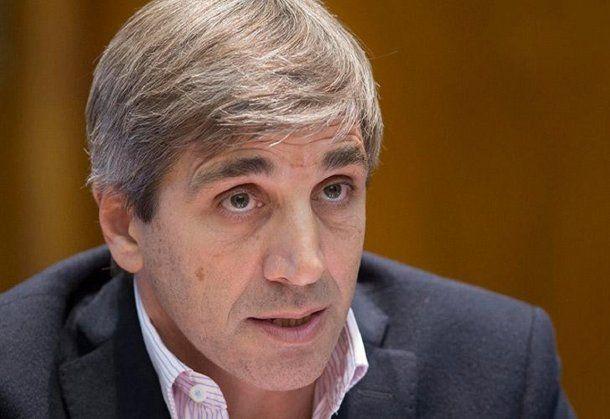 Luis Caputo, ministro de Finanzas de la Nación<br>