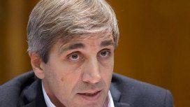 Luis Caputo, ministro de Finanzas de la Nación