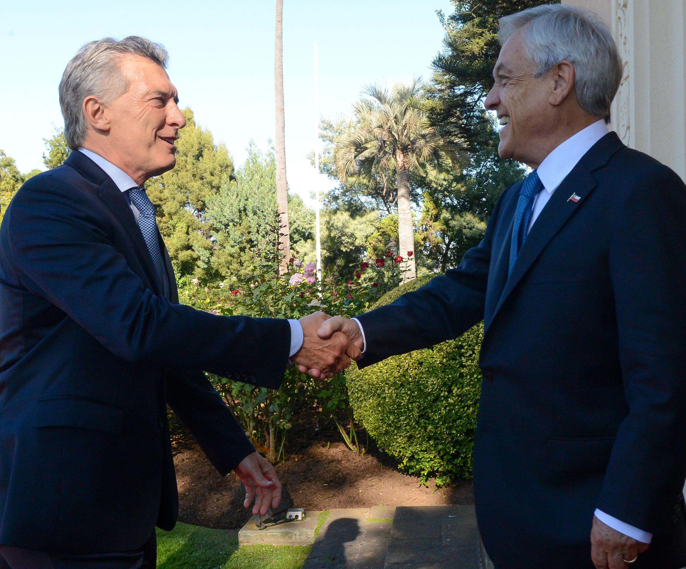 Mauricio Macri y Sebastián Piñera.