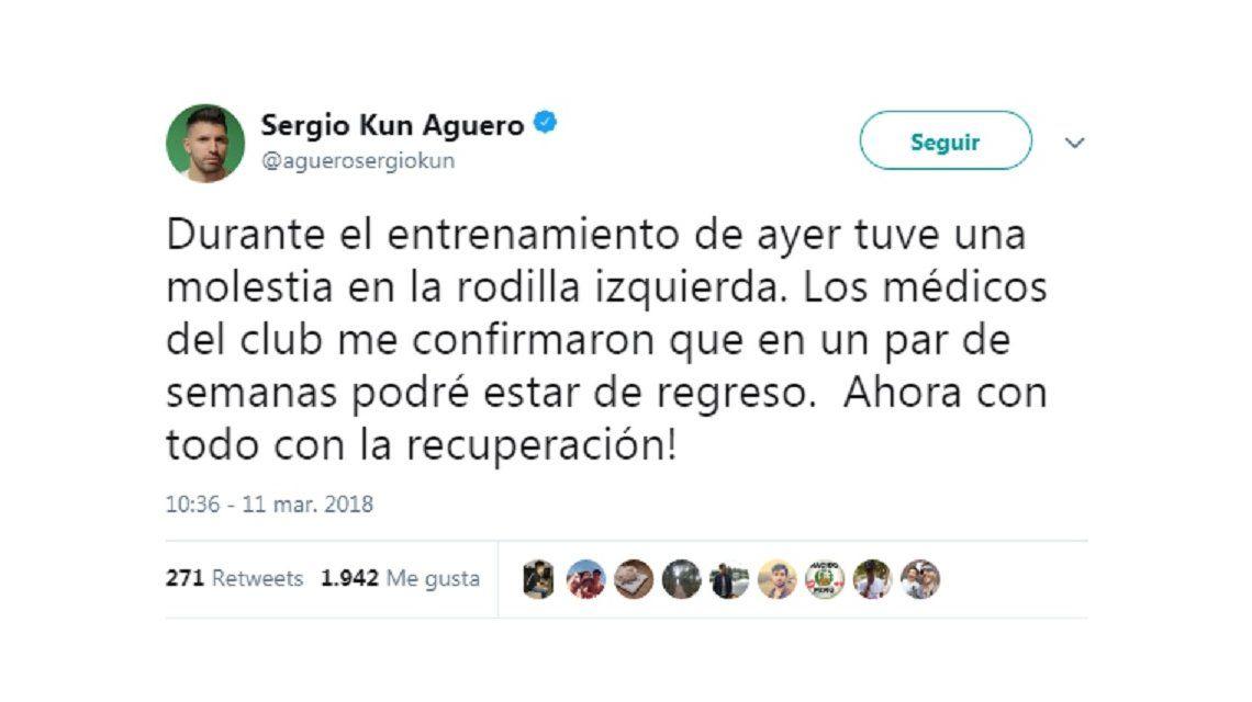 A pesar de la lesión de Agüero, ni Dybala ni Icardi volverán a la Selección