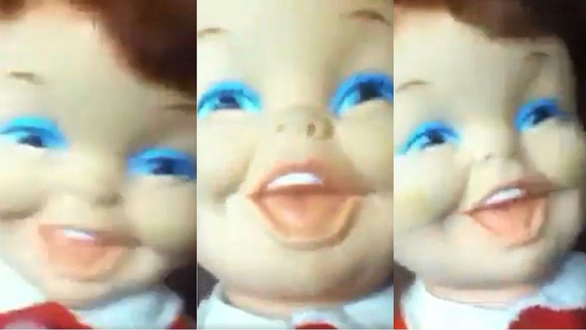 La muñea que se viralizó por su risa con pocas pilas