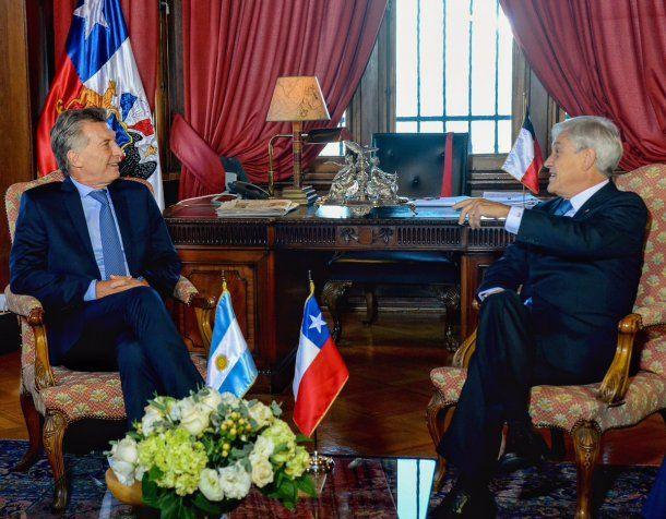 Mauricio Macri y Sebastián Piñera