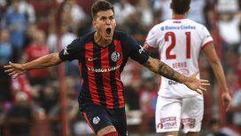 Al igual que Boca y River, San Lorenzo salvó el clásico sobre el final del partido