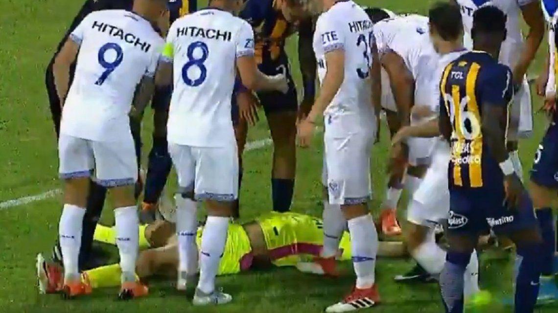 Terrible lesión de CésarRigamonti