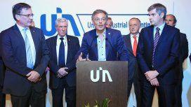 Francisco Cabrera y Marcos Peña con la UIA en 2016