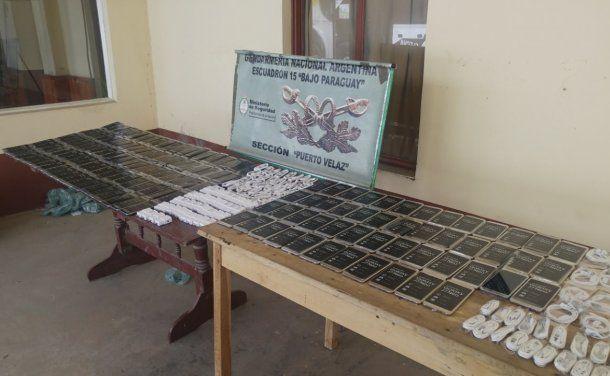 Un procedimiento de Gendarmería Nacional desbarató el tráfico de 150 celulares de alta gama<br>