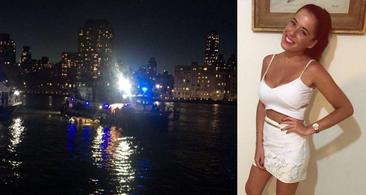Un helicóptero se estrelló en Nueva York: una de las víctimas es una joven correntina