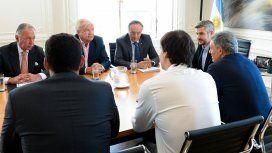 La reunión se realizó en Casa de Gobierno