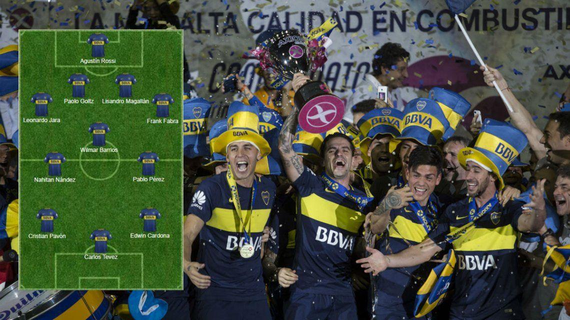 Formaciones de Boca y River para la final de la Supercopa Argentina, horario y TV