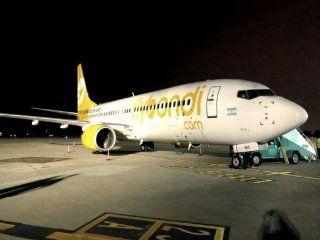 Avión de FlyBondi