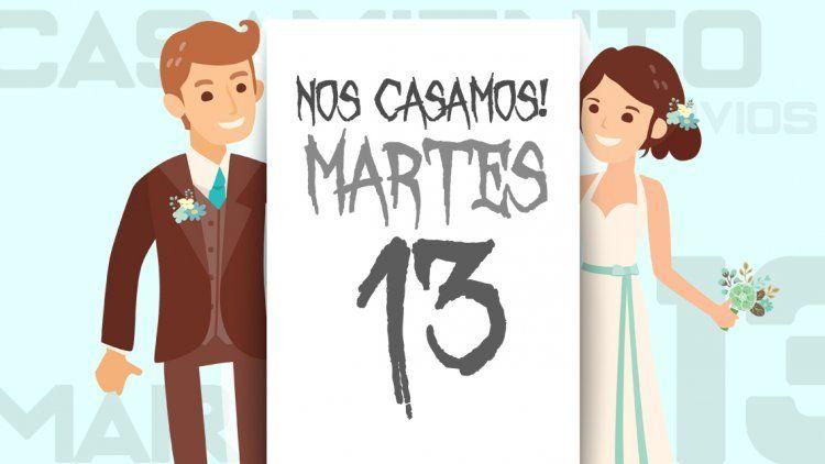 Este martes 13 hubo un 75% menos de casamientos en la Ciudad