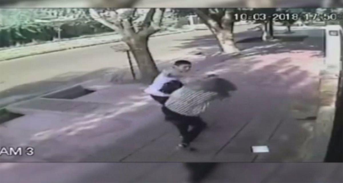 Brutal robo en Mendoza: la golpearon para sacarle la cartera