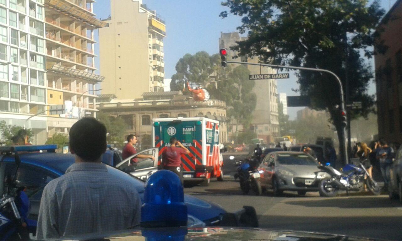 Al menos tres heridos tras un feroz enfrentamiento armado en San Telmo