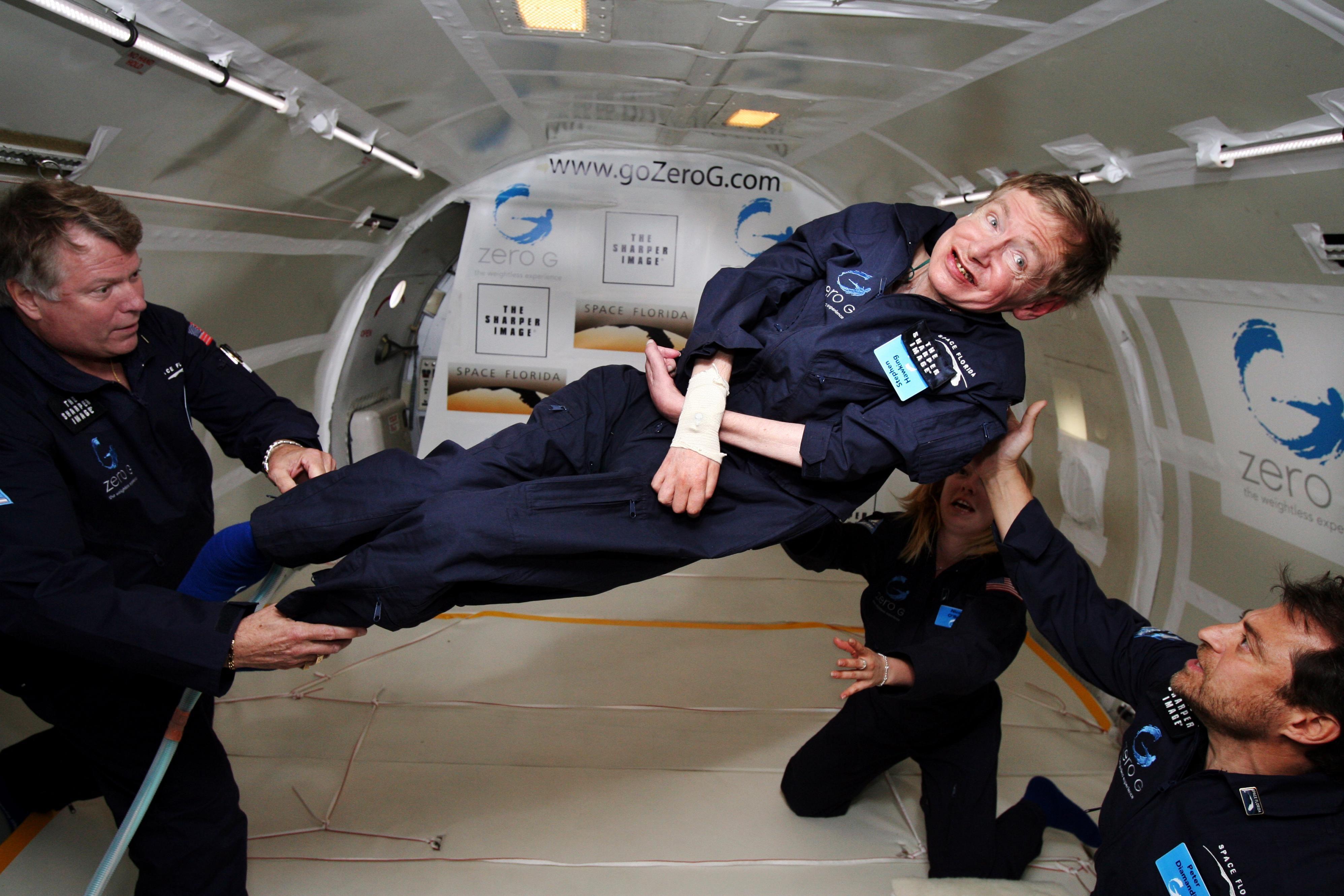 Stephen Hawking en la NASA