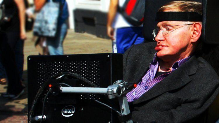 Stephen Hawking en Cambridge