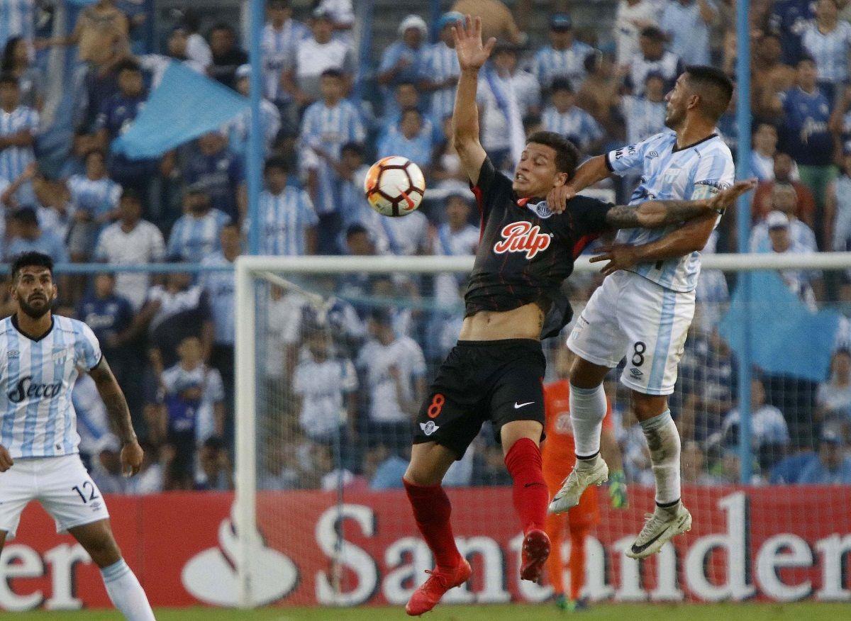 Atlético Tucumán cayó ante Libertad de Paraguay