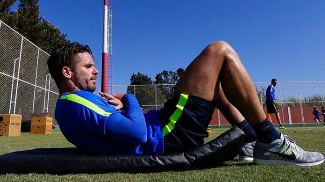 Gago espera volver en tres semanas y se entusiasma con el Mundial