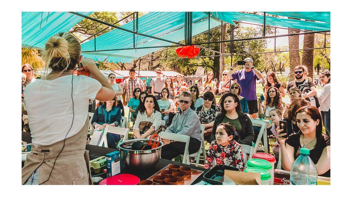 Un festival callejero de alimentos sin TACC