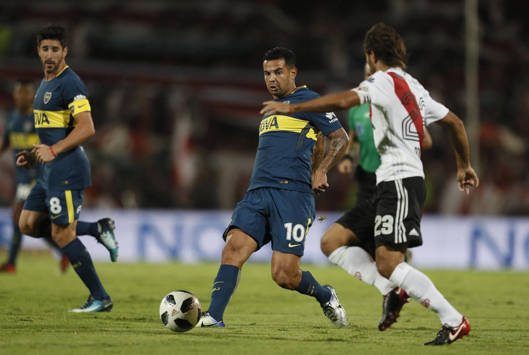 Boca y River juegan la final de la Supercopa - Crédito: @BocaJrsOficial