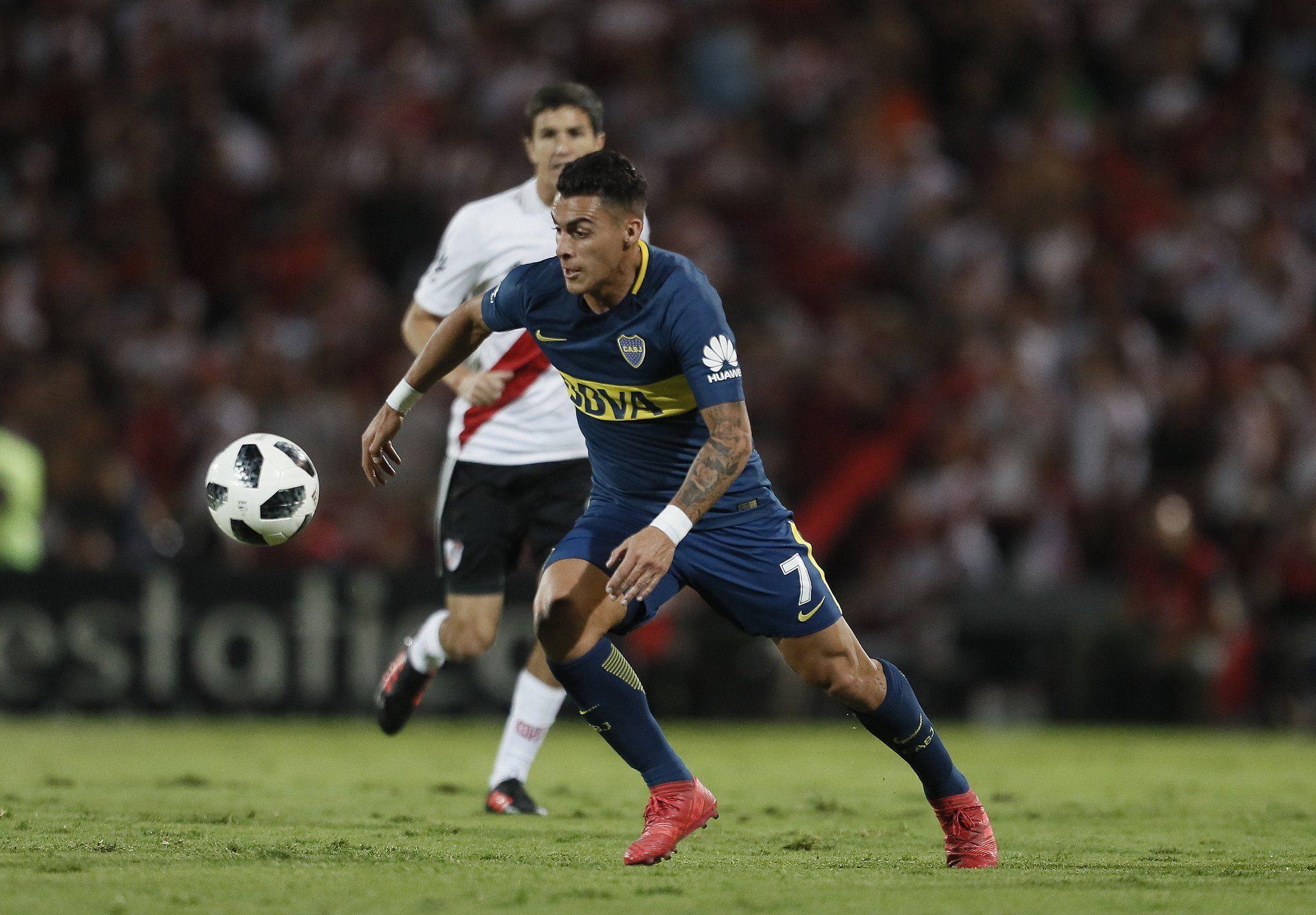 River y Boca en el Superclásico de la Supercopa - Crédito: @BocaJrsOficial