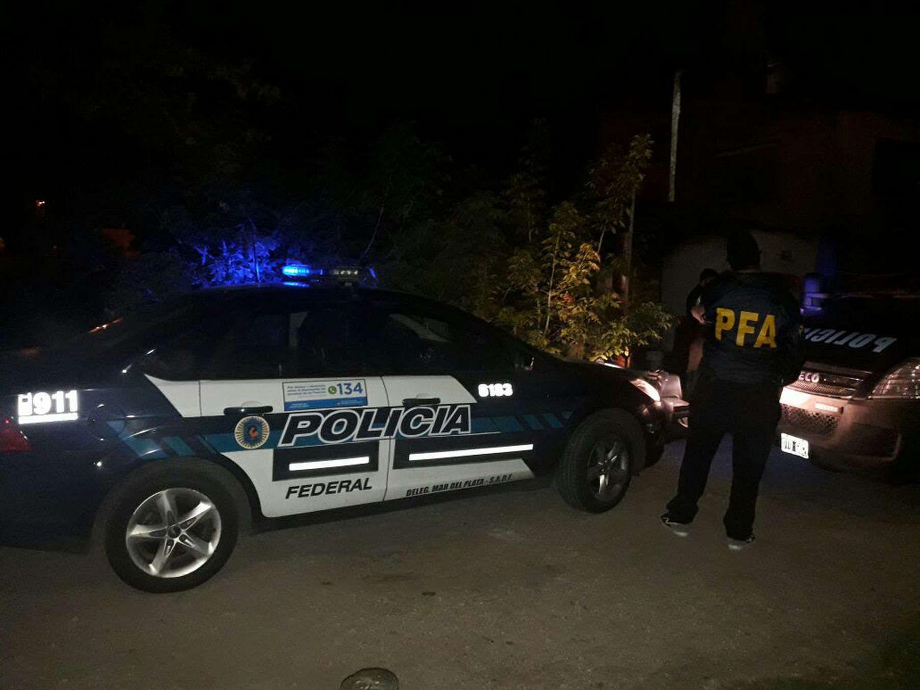 Policía Federal actuó en la detención