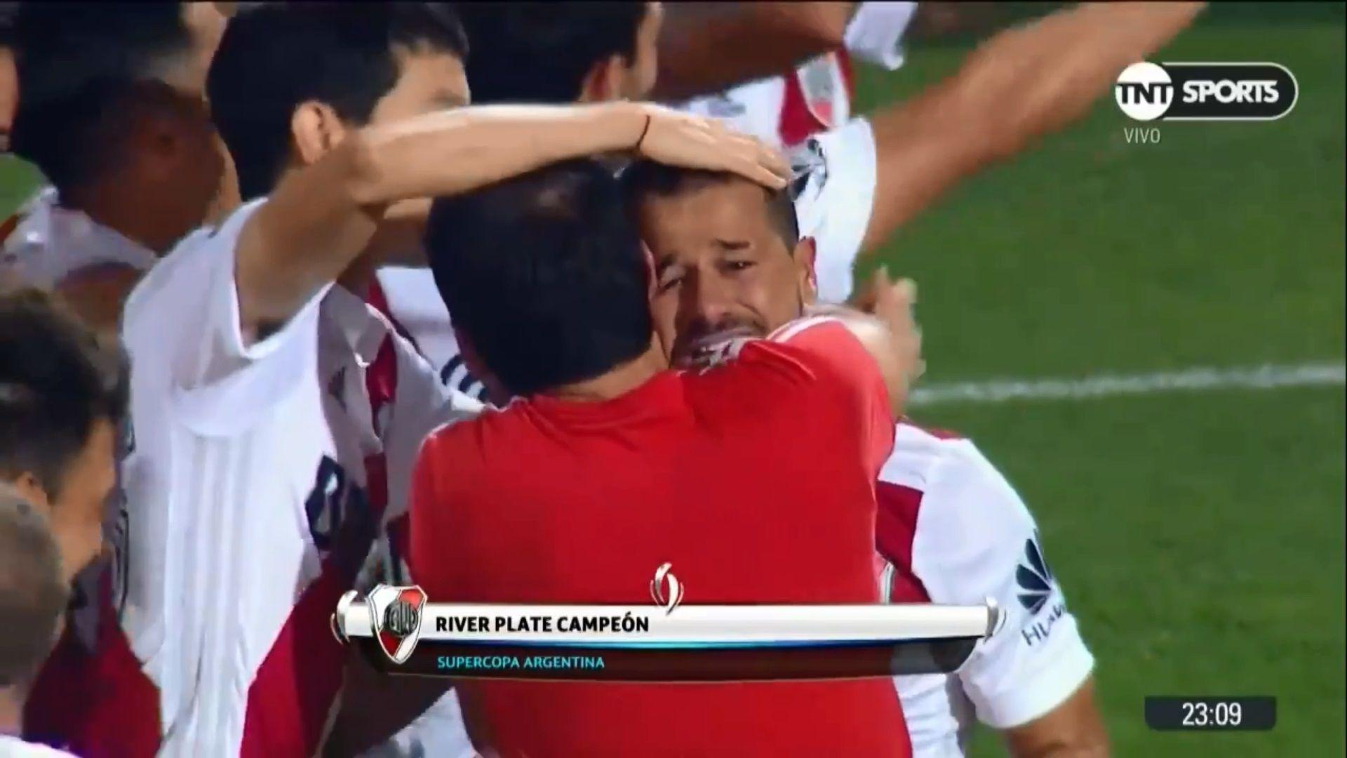 Regreso con título y emoción: las lágrimas de Mora tras el triunfo ante Boca