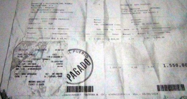 El ticket del perfume que apareció en la billetera de Facundo