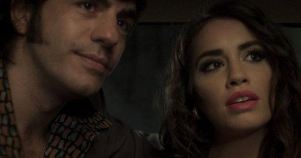 Marco Antonio Caponi (Sandro) y Lali Espósito (Reyna Ross)
