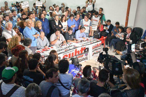 """Metrodelegados advirtieron al Gobierno con """"el paro de su vida""""<br>"""