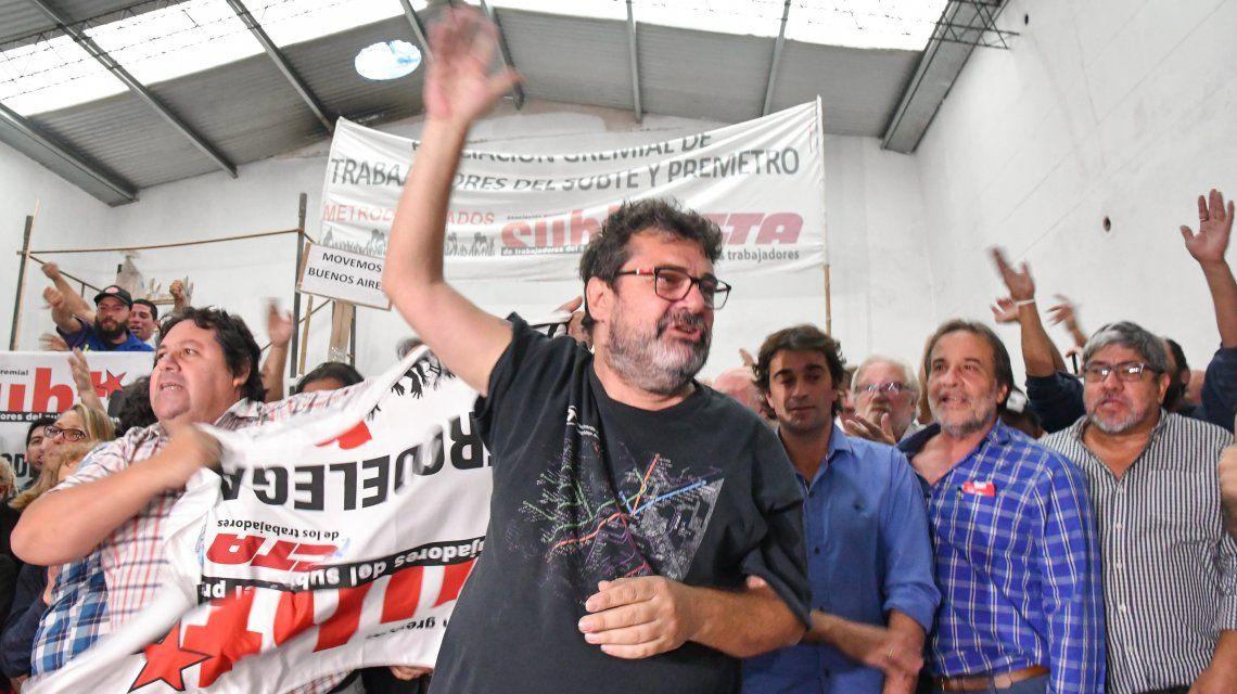 Metrodelegados brindaron una conferencia de prensa