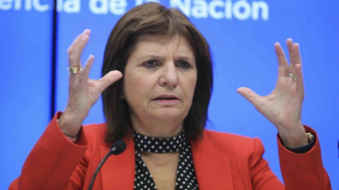 La polémica frase de Patricia Bullrich sobre los enfrentamientos entre policías y delincuentes