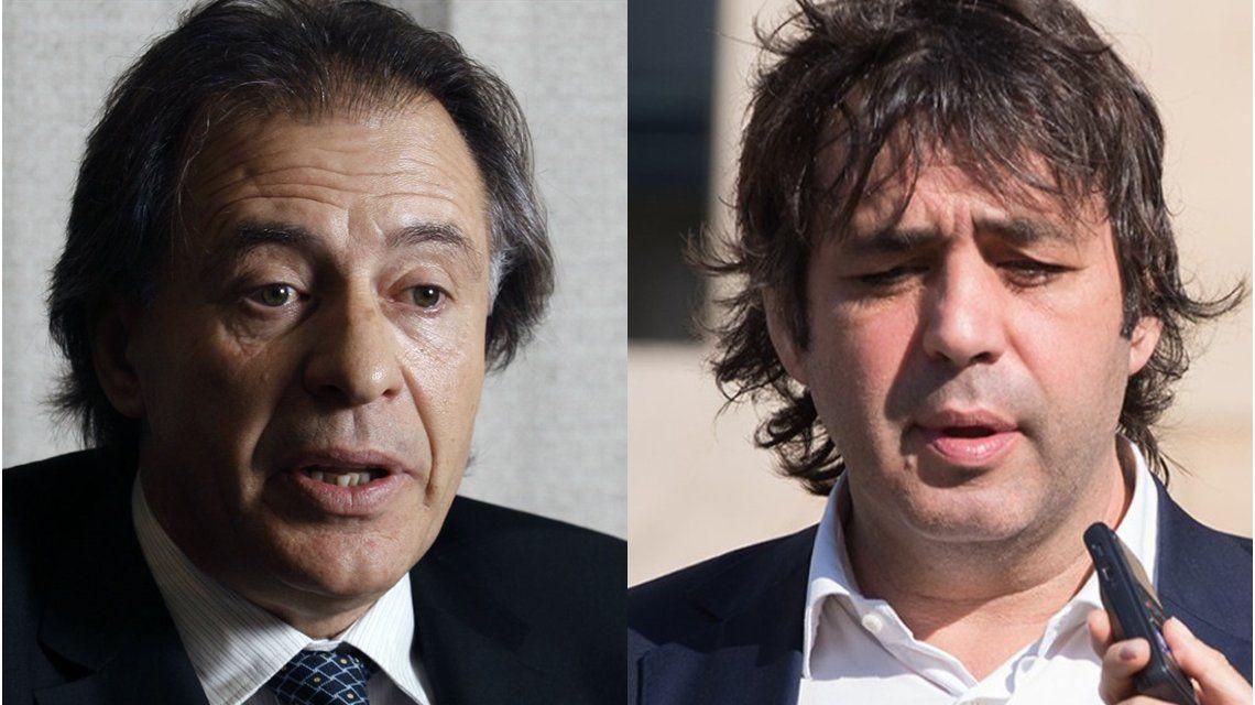 Cristóbal López y Fabián De Sousa se entregaron a la Justicia