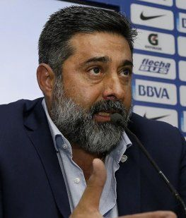 Daniel Angelici, presidente de Boca