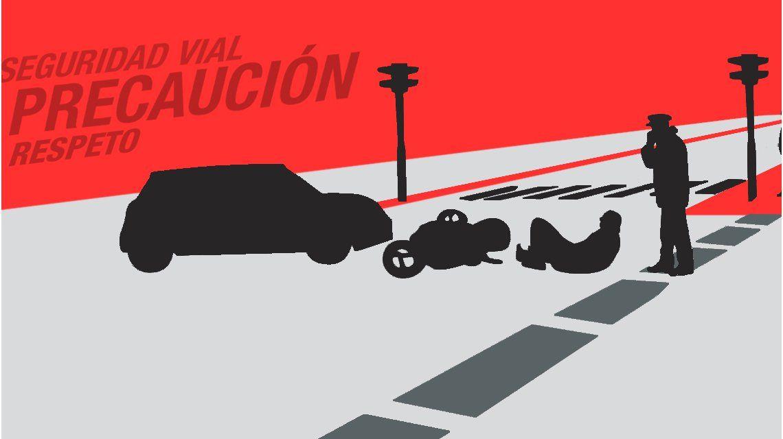 Inseguridad vial: Palermo, los lunes y a la tarde, el lugar y momento más crítico