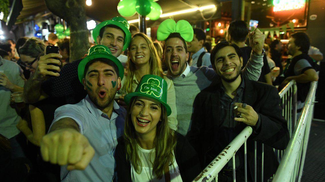 San Patricio, a pleno: así se celebra en Buenos Aires al patrono de Irlanda