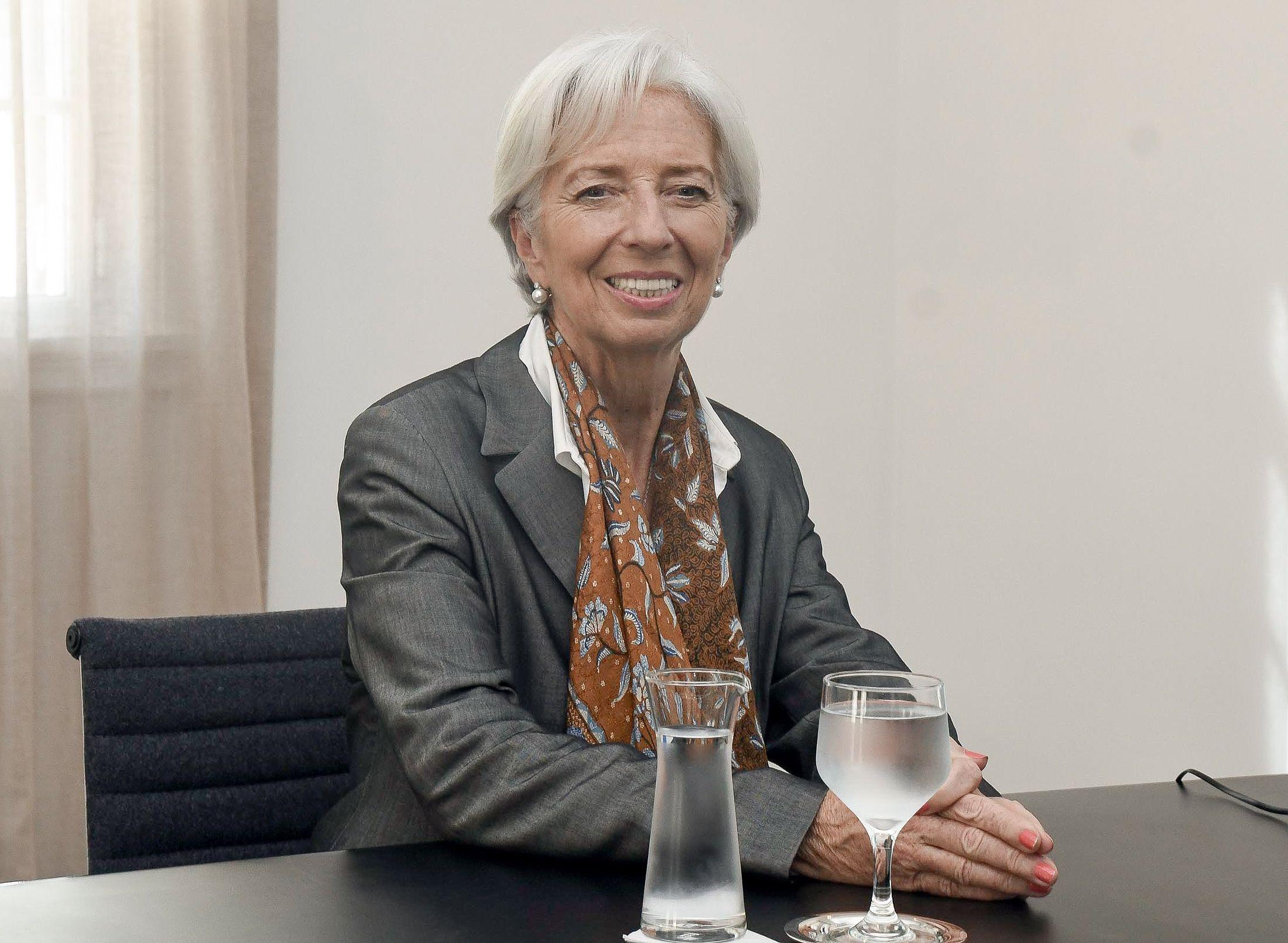 Lagarde: Se iniciaron discusiones para fortalecer la economía argentina