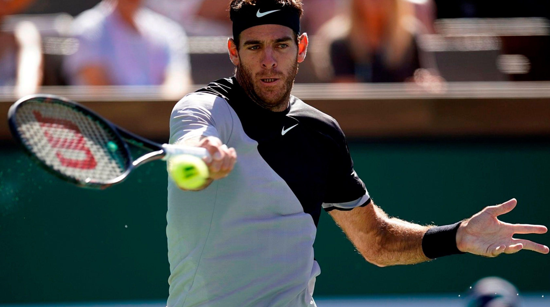Del Potro avanzó a las semifinales de Indian Wells