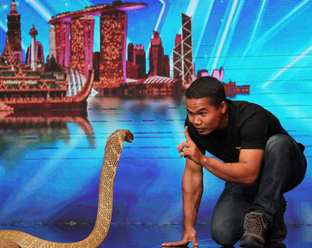 Abu Zarin se hizo famoso a través del programa Asias Got Talent