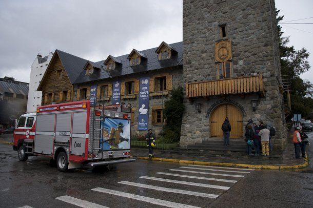 Hizo un incendio en la Municipalidad de Bariloche - Crédito: rionegro.com.ar<div><br></div>
