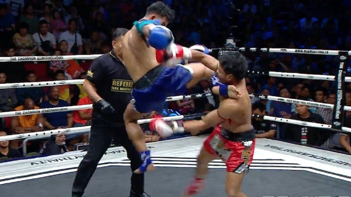 VIDEO: Brutal nocaut en una pelea de muay thai