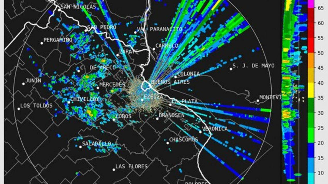 Llegó la tormenta y podría caer granizo: ¿cuándo volverá el buen tiempo a la Ciudad y la Provincia?