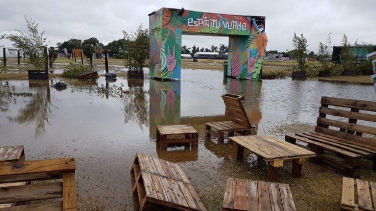 La tercera jornada del Lollapalooza 2018 se suspendió por la tormenta.