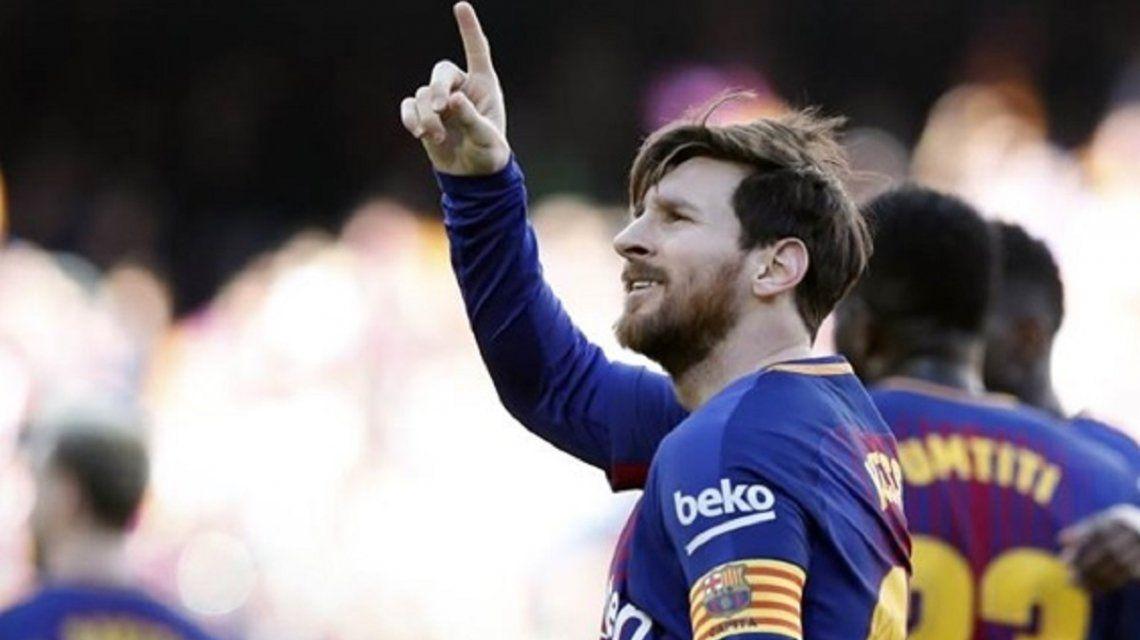 Lionel Messi - Crédito:@FCBarcelona_es