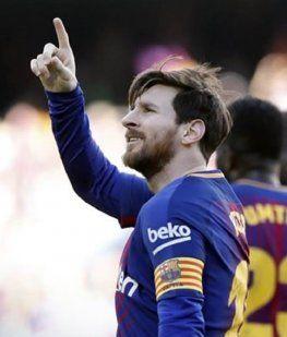 Baile de Lionel Messi por los 500 goles en Barcelona - Crédito:@FCBarcelona_es