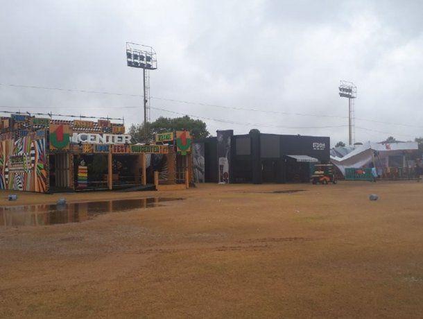 Temporal en Lollapalooza - Crédito: @zanoni