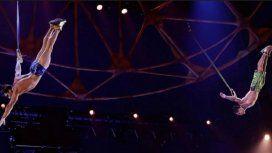 Un acróbata del Cirque du Soleil murió al caer de más de 4 metros en pleno show en Florida