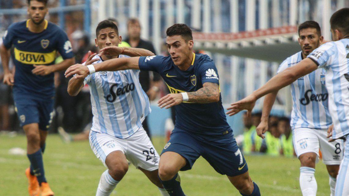 Boca vs Atlético Tucumán