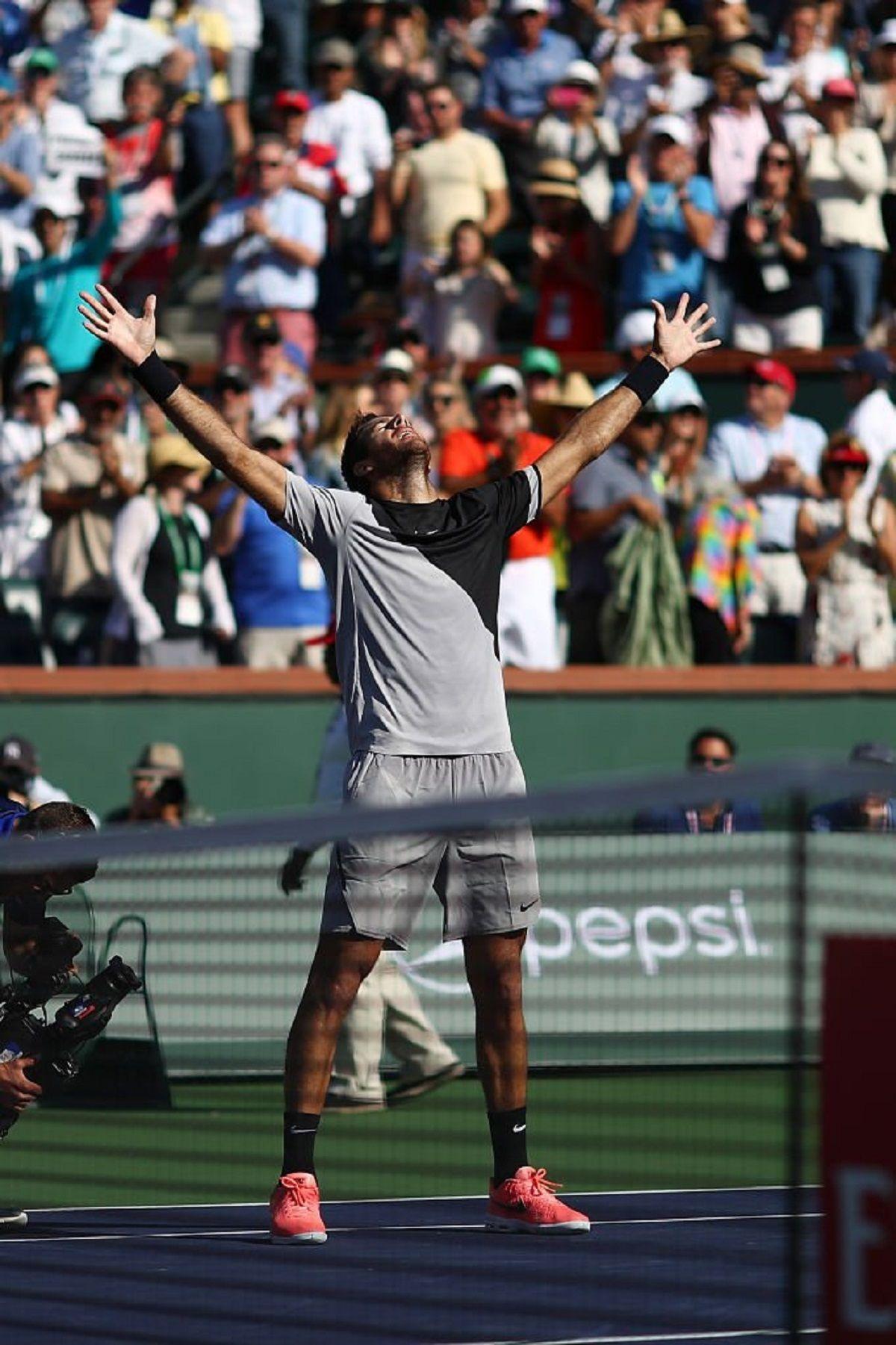 Del Potro ganó en Indian Wells - Crédito:@SC_ESPN